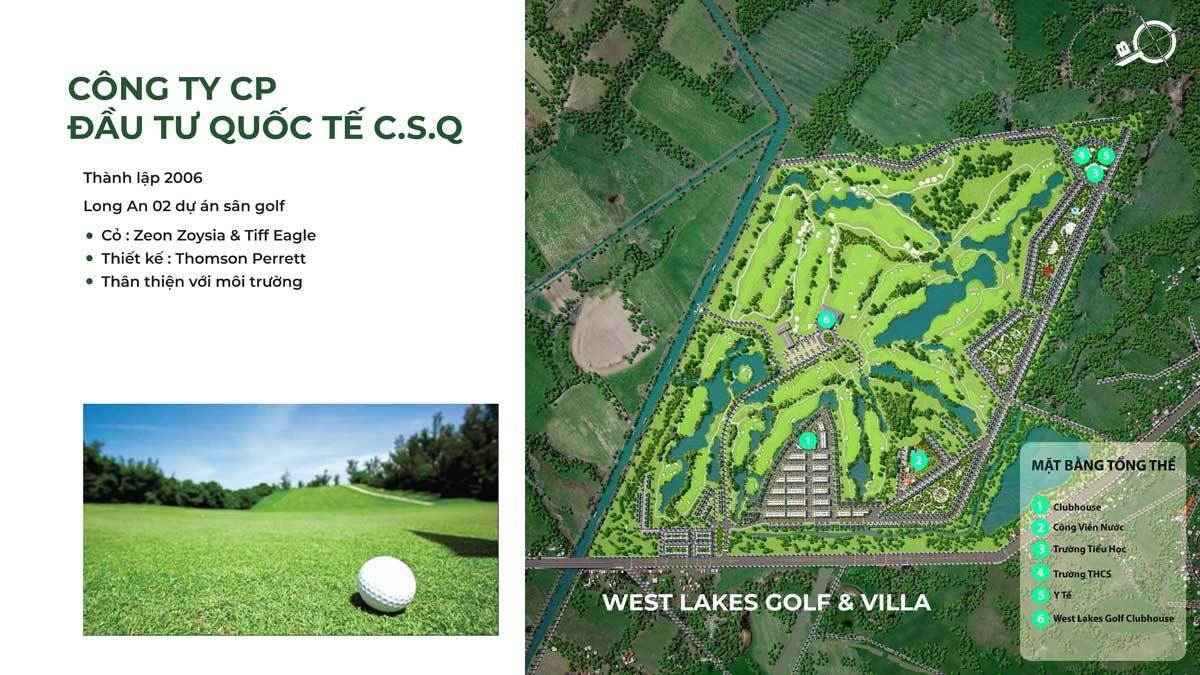 Giới thiệu dự án West Lake Golf Villa