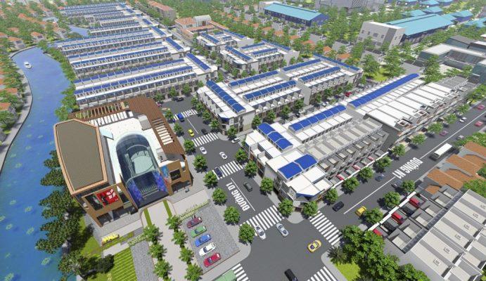 Phối cảnh DA Phước Đông Garden