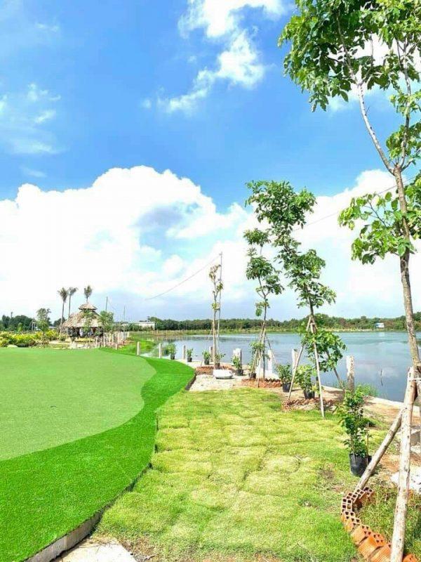 Công viên xanh bên trong dự án