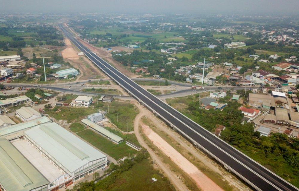 hình ảnh cao tốc Bến Lức Long Thành