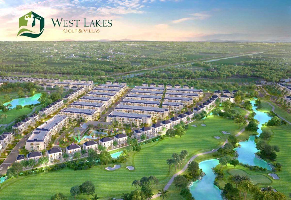 Bất động sản Long An - Dự án West Lake Golf & Villas