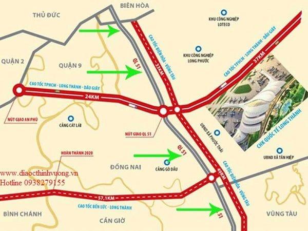 Cao tốc nối tiếp Sân Bay Long Thành- Giúp Bất động sản Bà Rịa Vũng Tàu đi lên