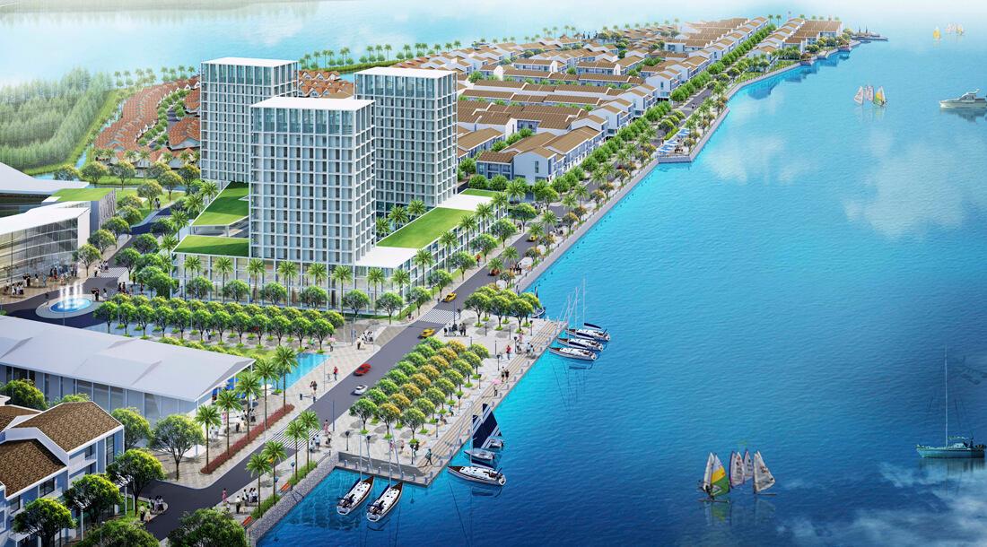 Dự án Marine City - Dự án mới tại Bà Rịa Vũng Tàu