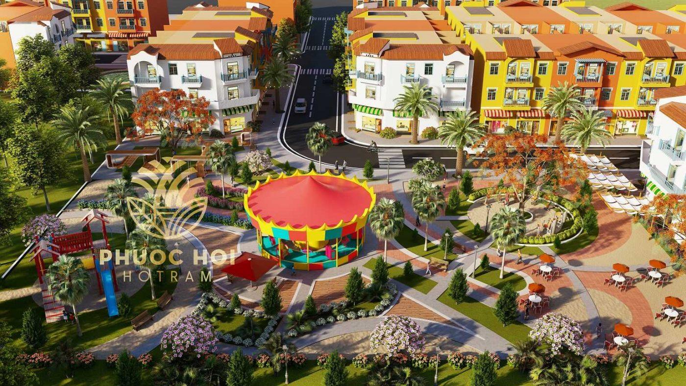 Dự án Phước Hội Hồ Tràm.
