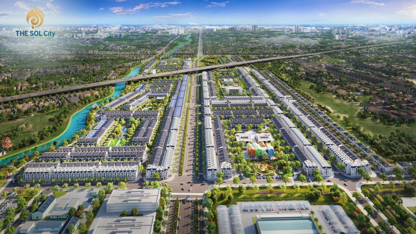 Dự án The Sol city tăng giá nhờ hạ tầng phát triển