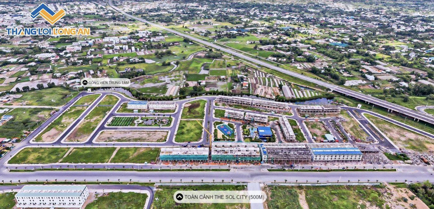 Dự án bất động sản Cần Giuộc Long An - The Sol City