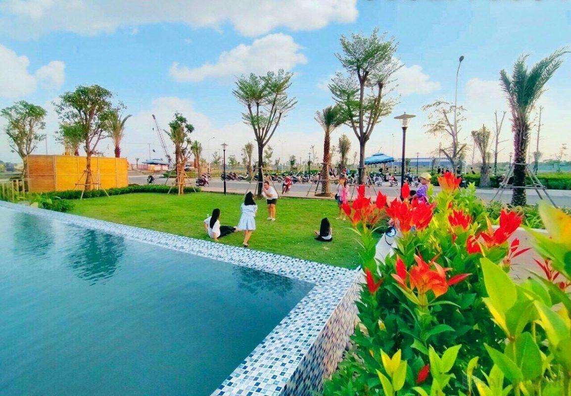 Bất động sản vùng ven đáp ứng không gian sống xanh tại The Sol City