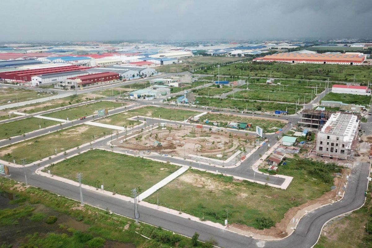 Thị trường bất động sản Cần Giuộc Long An - hưởng lợi từ khu công nghiệp