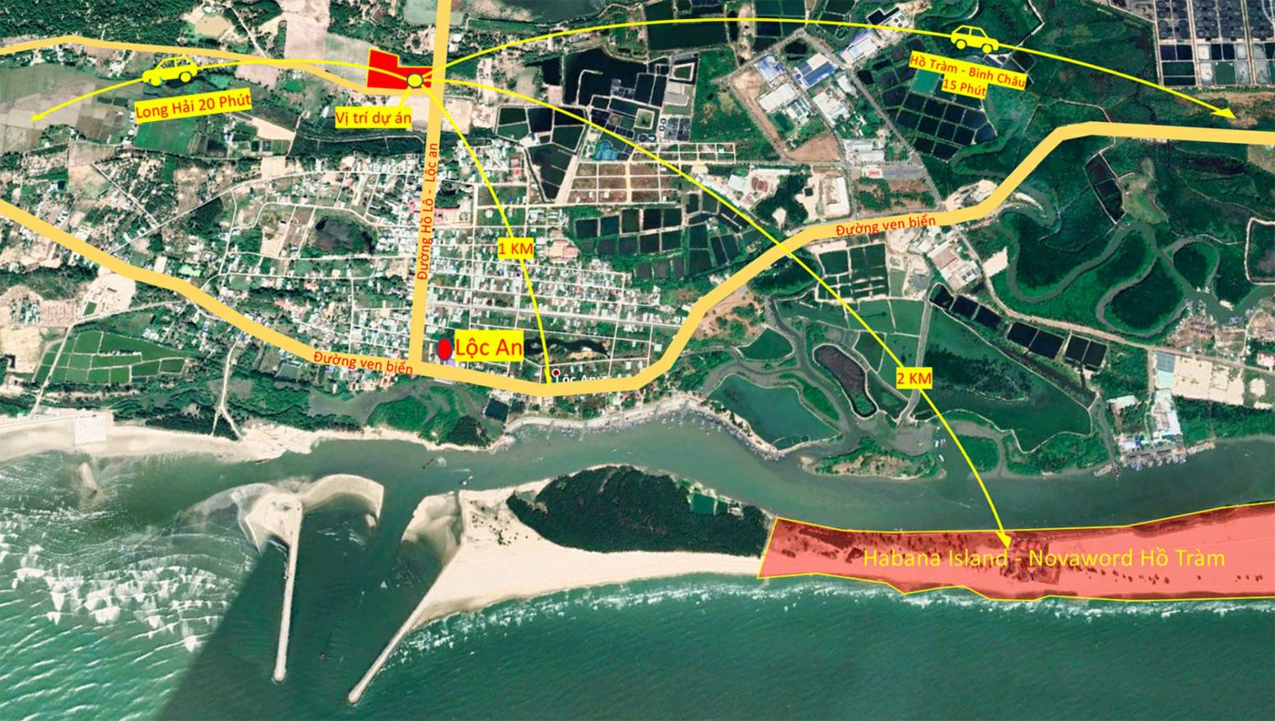 Yếu tố tạo nên sức hút của dự án Phước Hội Hồ Tràm